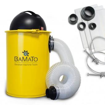 BAMATO Absauganlage AB-110 inkl. Adapter Set
