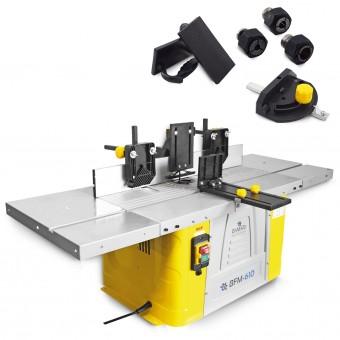 BAMATO Tischfräsmaschine BFM-610 inkl. Spannzangenset