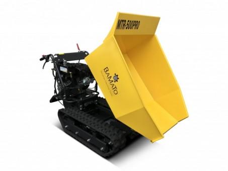 BAMATO Mini Raupendumper MTR-500PRO mit Kippdydraulik