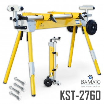 BAMATO universeller Maschinenständer KST-2760 inkl. Schrauben-Kit