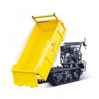 BAMATO Mini Raupendumper MTR-800PRO mit Kipphydraulik und Trittbrett