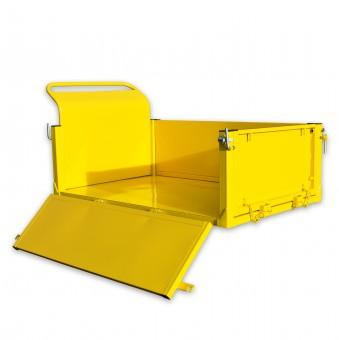 BAMATO Aufsatz mit klappbaren Bordwänden für Raupendumper MTR-500H und MTR-500PRO